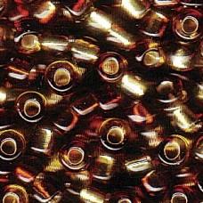 4mm Irrg Rnd 2 Tone S/l Lt.yellow/dk Topaz-250 Gm (3936)