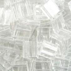 Tila Bead 5mm Crystal -50 Gm Bag (131)