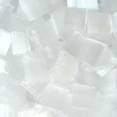 Tila Bead 5mm Crystal Frosted Mist 50 Gm/bg (37)