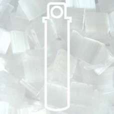Tila Bead 5mm Crystal Frosted Mist 6.8 Gm/tb (37)
