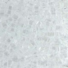 Tila 1/2 Cut 5mm Crystal 50 Gm Bag (131)