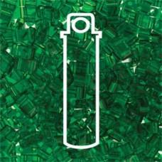 Tila 1/2 Cut 5mm Trans Green Aprx 7.8gm/tb (146)