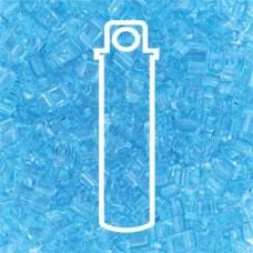 Tila 1/2 Cut 5mm Transp Light Blueaprx 7.8gm/tb (148)