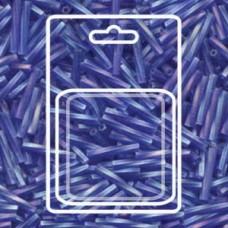 Tw Bgl 2x12mm Miyuki Appx 13gm/cd Matte Tr Cobalt Ab (177F)