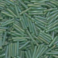Tw Bgl 2x12mm Miyuki 250 Gram Matte Tr Green Ab (179F)