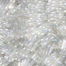 Tw Bgl 2x12mm Miyuki 250 Gram Crystal Ab (250)