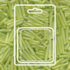Tw Bgl 2x12mm Miyuki Appx 13gm/cd Matte Tr Chartreuse Ab (258F)