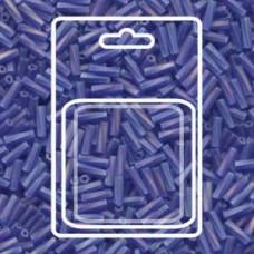 Tw Bgl 2x6mm Miyuki Appx 13gm/cd Matte Tr Cobalt Ab (177F)