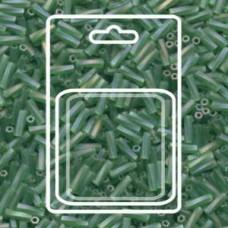 Tw Bgl 2x6mm Miyuki Appx 13gm/cd Matte Tr Green Ab (179F)