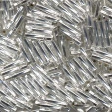Twisted Bugle 2.7 X12mm S/l Crystal- 250 Gm (1)
