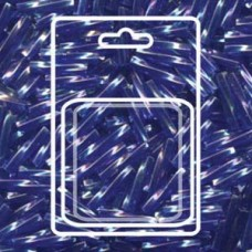 Twisted Bugle 2.7x12mm Tr Cobalt Ab-aprx 13gm/cd (177)