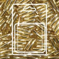 Twisted Bugle 2.7x12mm S/l Gold-aprx 13gm/cd (3)