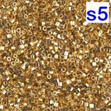 Японская рубка Delica Miyuku 11/0 24KT Gold Plated (DBC0031)