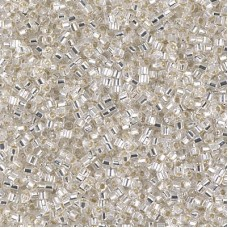 Японская рубка Delica Miyuku 10/0 Silverlined Crystal (DBMC0041)