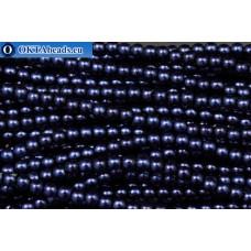 Чешский стеклянный жемчуг кобальт (70063) 3мм, ~600шт