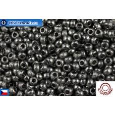COTOBE Beads CZ 11/0 Asphalt Etched (04003)