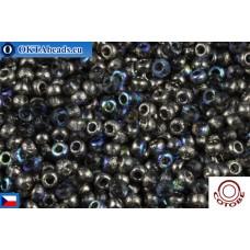 COTOBE Beads CZ 11/0 Half Asphalt Etched Rainbow (04004)
