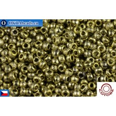 COTOBE Beads CZ 11/0 Gold Etched (04006)