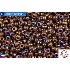 COTOBE Beads CZ 11/0 Copper Etched Rainbow (04011)