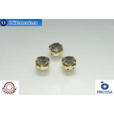 Шатоны COTOBE ss39 Black Diamond Матовые Золото 36шт