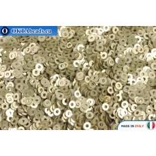 Итальянские плоские пайетки 2мм Oro Metal (2019)