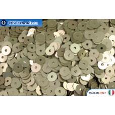 Итальянские плоские пайетки 4мм Oro Metal (2019)