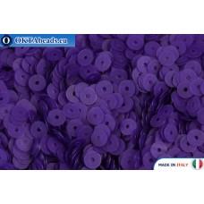 Итальянские плоские пайетки 4мм Indaco Fancy (556F)