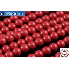 Чешский стеклянный жемчуг 3мм Ceramic Cranberry 600шт