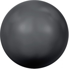 Swarovski жемчуг 5810 5мм Crystal Black Pearl (298)
