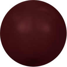 Swarovski жемчуг 5810 5мм Crystal Bordeaux Pearl (538)