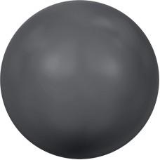 Swarovski жемчуг 5810 5мм Crystal Dark Grey Pearl (617)