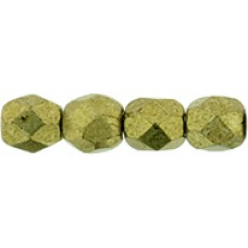 DG-2 Граненые Бусины 3мм Saturated Metallic Golden Lime (04B08) - 1200шт