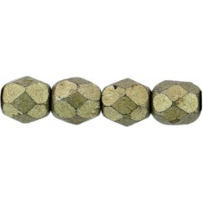 DG-3 Граненые Бусины 4мм Saturated Metallic Golden Lime (04B08) - 1200шт