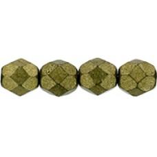 DG-4 Граненые Бусины 6мм Saturated Metallic Golden Lime (04B08) - 600шт