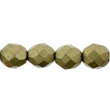 DG-5 Граненые Бусины 8мм Saturated Metallic Golden Lime (04B08) - 300шт