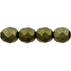 DG-5 Граненые Бусины 8мм Saturated Metallic Emperador (05A01) - 300шт