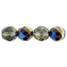 Граненые Бусины 12мм Blue Iris - Crystal (BR00030) - 150шт