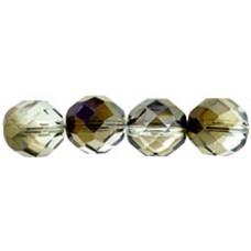 Граненые Бусины 12мм Purple Iris - Crystal (PR00030) - 150шт