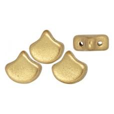 DG-8 Ginkgo бусины 7,5х7,5мм Matte - Metallic Flax (K0171) - 50гр