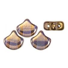 DG-8 Ginkgo бусины 7,5х7,5мм Bronze - Crystal (B00030) - 50гр