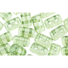 DG-7 Rulla бусины 3х5мм Luster - Transparent Green (LN00030) - 100гр