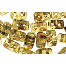 DG-7 Rulla бусины 3х5мм Crystal - Picasso (T00030) - 100гр