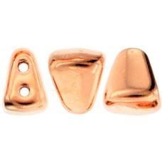 DG-7 NIB-BIT бусины 6х5мм Metallic Copper Penny (MAG03) - 100гр