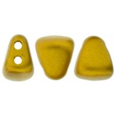 DG-7 NIB-BIT бусины 6х5мм Matte - Metallic Antique Gold (K0174) - 100гр