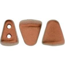 DG-7 NIB-BIT бусины 6х5мм Matte - Metallic Dk Copper (K0175) - 100гр