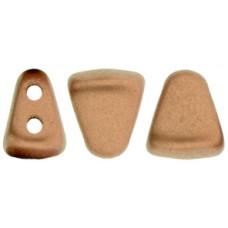DG-7 NIB-BIT бусины 6х5мм Matte - Metallic Bronze Copper (K0178) - 100гр