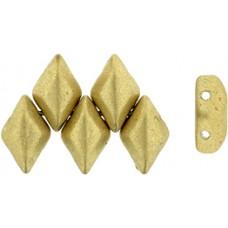 DG-7 GemDuo бусины 8х5мм Matte - Metallic Flax (K0171) - 50гр