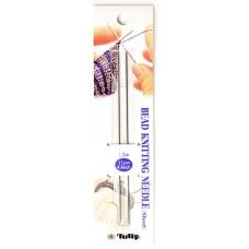 DG-11 Спицы для вязания с бисером Tulip короткие - 1уп/2шт