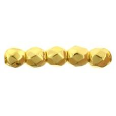 DG-1 Граненые Бусины 2мм 24K Gold Plate (MAG01) - 1200шт