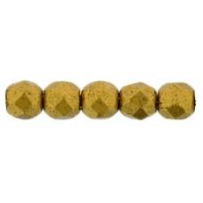 DG-1 Граненые Бусины 2мм Matte - Brass Gold (K0174JT) - 1200шт